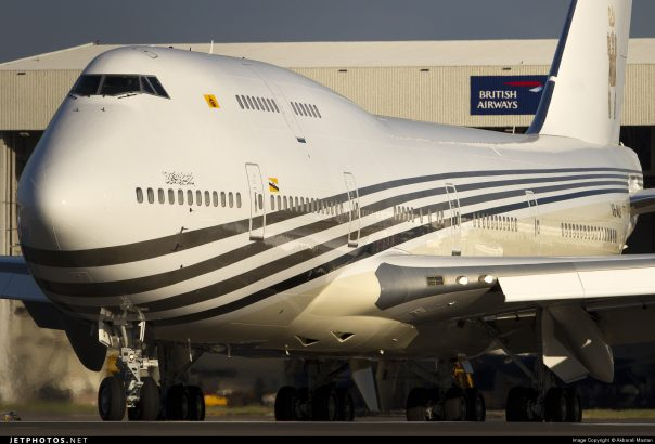 Роскошный Боинг 747-430