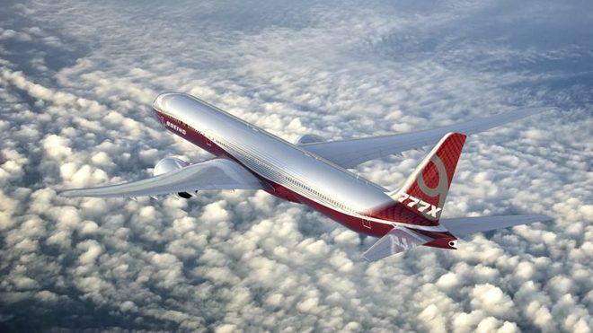 Непривычный взгляд сверху вниз на Боинг 777