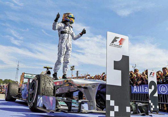 Формула 1. Момент триумфа