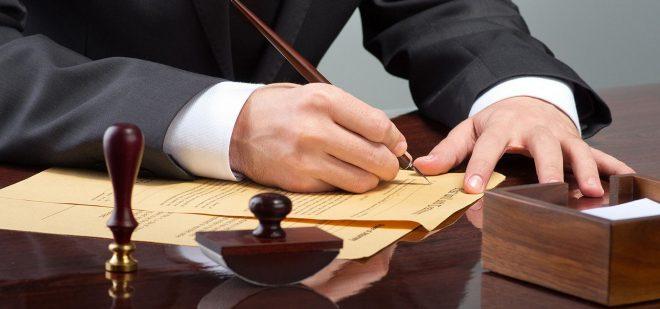 Адвокат поможет правильно составить договор