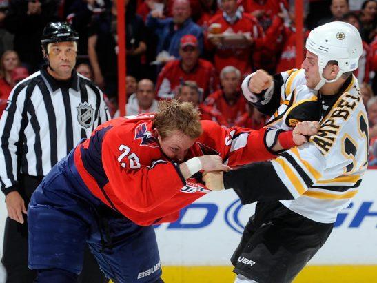 Трус не играет в НХЛ