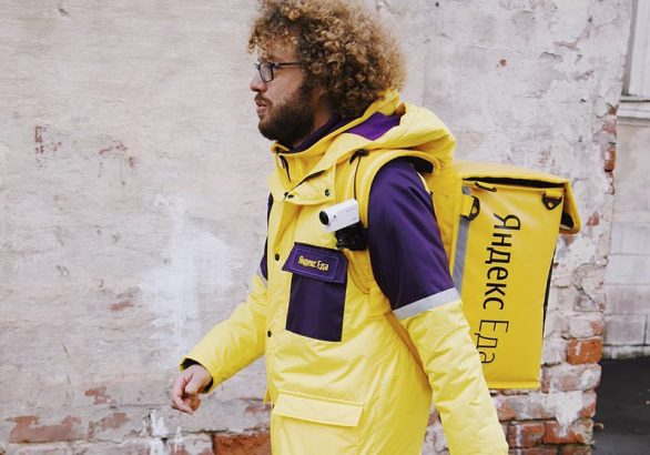 Илья Варламов в рекламной кампании Яндекс.Еды