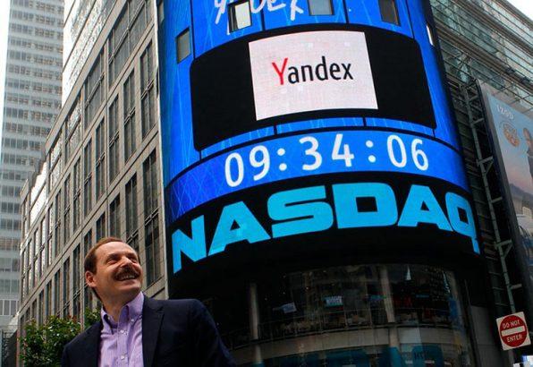 Яндекс выходит на биржу NASDAK
