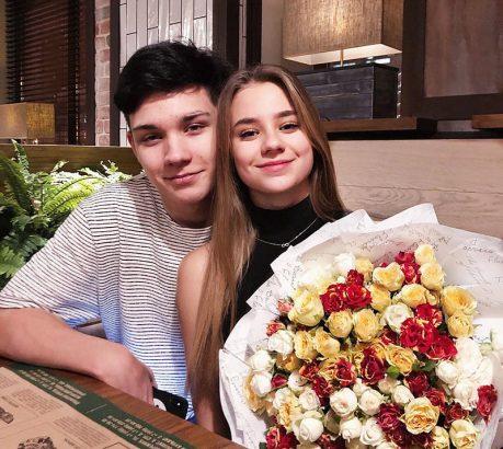 Катя и ее парень Сема Ким