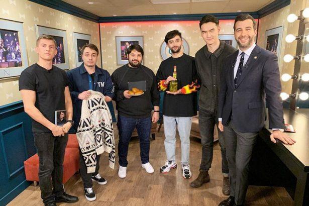 Щербаков и команда шоу «Что было дальше?» в гостях у Ивана Урганта