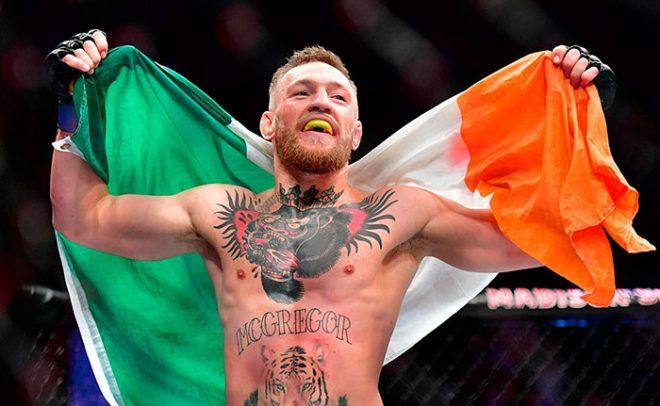 Конор сегодня, пожалуй, самый известный в мире ирландец