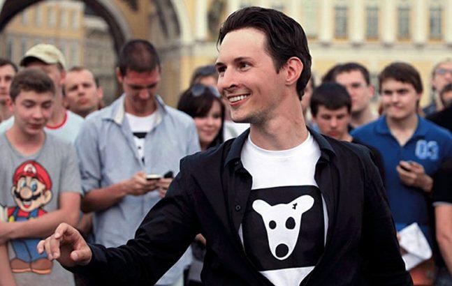 Создатель социальной сети Павел Дуров на встрече с пользователями