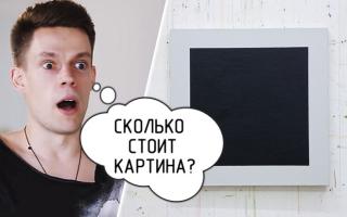 Сколько стоит Черный квадрат Малевича