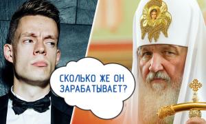 Сколько на самом деле зарабатывает Патриарх Кирилл
