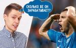 Сколько получает Артем Дзюба – главная звезда отечественного футбола