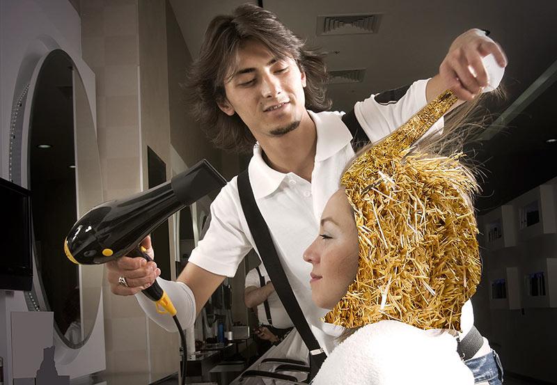 окрашивание волос фриланс